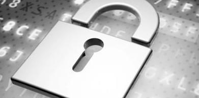 IT-Security symbolisiert durch ein Schloss